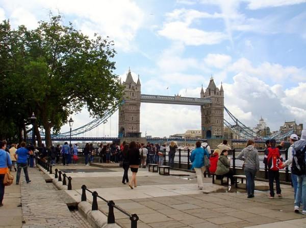 тауерский мост. англия. лондон