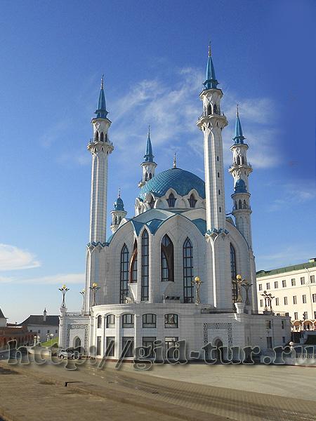 Казань. Мечеть Кремль