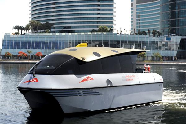 Водное такси в Дубае