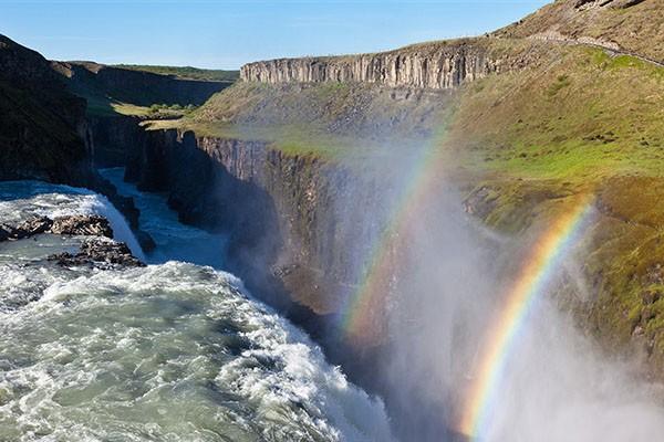 Исландия, водопад Гуллфосс