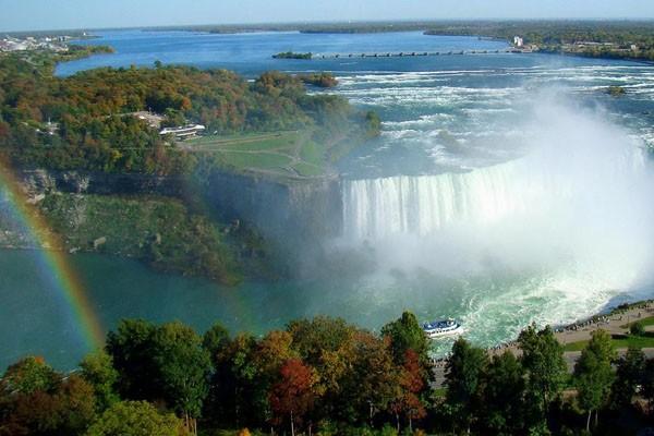 США/Канада, Ниагарский водопад