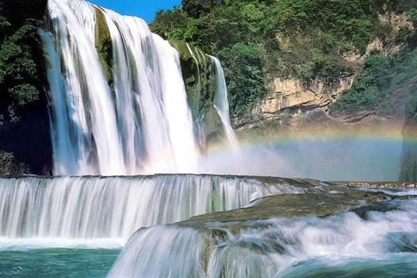 Китай, водопад Хуангошу