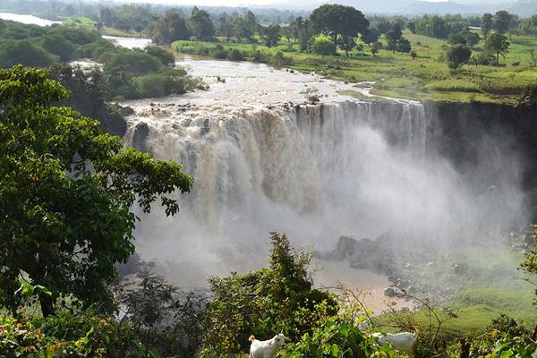 Эфиопия, водопады Голубого Нила
