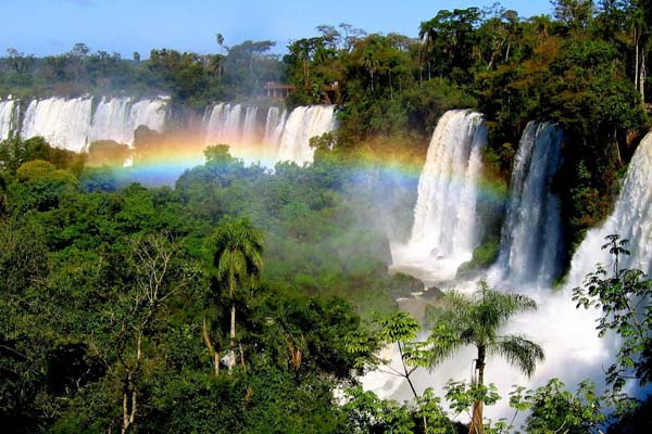Бразилия/Аргентина, водопад Игуасу