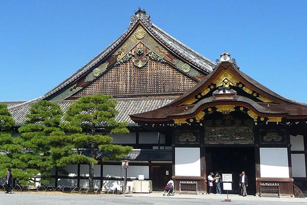 Замок Нидзё-дзё в Японии